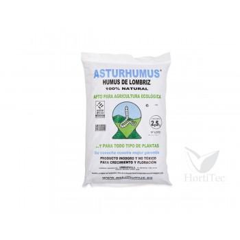 Humus de lombriz 5 l (2,5 kg) asturhumus